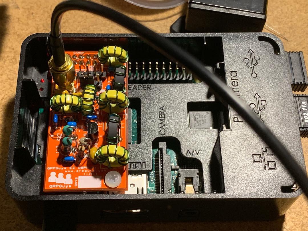 New Equipment! QRPGuys EZ-WSPR Pi - KE6MT